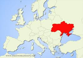 map ukraine where is ukraine located on the world map