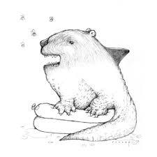 bear alligator shark image brewery