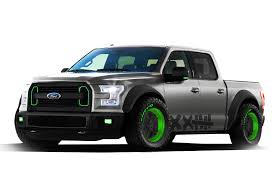 02 ford truck ford previews two sema f 150 trucks rod