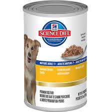 science diet mature 7 gourmet chicken entrée canned dog