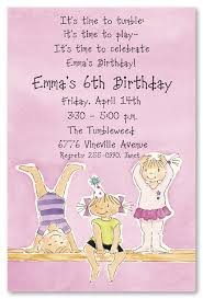 gymnastics invitations birthday party vertabox com