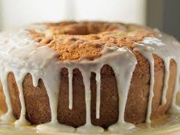 kyle u0027s lemon pound cake with reba u0027s royal glaze recipe trisha