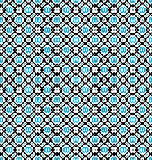 Blau Schwarz Muster Muster Oder Hintergrund In T羮rkis Blau Schwarz Und Wei罅