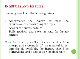 examples of inquiry letters for business business letters