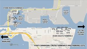 port canaveral map professor cruise ship cruise departure port port canaveral florida