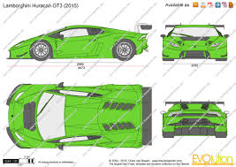 lamborghini huracan pdf the blueprints com vector drawing lamborghini huracan gt3