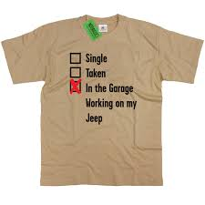 jeep shirt mens single taken in the garage jeep t shirt classic retro 4x4