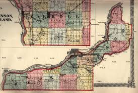Illinois Map With Counties by Rock Island County Illinois Maps And Gazetteers