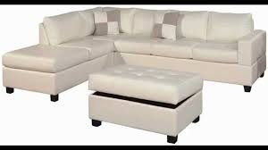 Small 3 Piece Sectional Sofa Bobkona Leather Match 3 Piece Sectional Sofa Set Best Home
