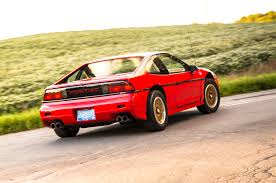 pontiac sports car collectible classic 1984 1988 pontiac fiero