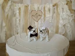 bulldog cake topper bulldog wedding cake topper bull dogs of