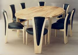 Beech Dining Table Dining Chair Inspiration With Additional Spalted Beech