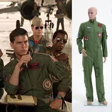 top gun jumpsuit maverick costume ebay