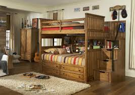 Twin Over Full Bunk Bed With Stairs Bed Horrible Praiseworthy Fraser Solid Wood Twin Over Full Bunk