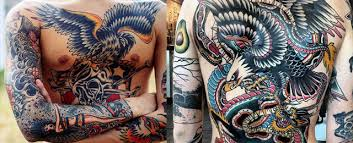 50 eagle back tattoo designs for men flying bird ink ideas