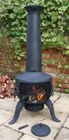 Bronze Cast Iron Chiminea Furniture Interesting Chiminea For Outdoor Fireplace Ideas