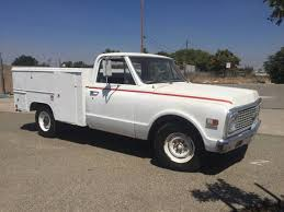 Utility Bed For Sale 1971 Chevy C20 Utility Body Service Truck For Sale Fresno Ca