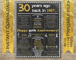 30th anniversary gift the 25 best 30th anniversary gifts ideas on 30th