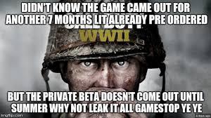Cod Memes - image tagged in cod ww2 pre order meme cod meme i died imgflip