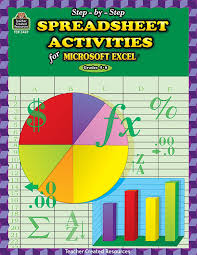 Spreadsheet Reader Step By Step Spreadsheet Activities For Excel R Step By Step