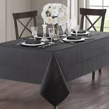 waterford table linens damascus waterford table linens corra oblong tablecloth charcoal 70 x 84