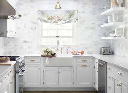 35 Beautiful Kitchen Backsplash Ideas White Subway Tile Marble Backsplash Kitchens Sink Updates Kitchen