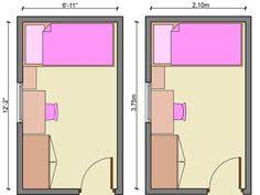 Small Bedroom Floor Plan Ideas Chic Long Narrow Layout 600x380 Ideas For The House Pinterest