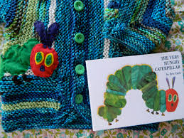 the vintage umbrella very hungry caterpillar baby sweater
