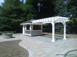 Pool With Pergola by Custom Pool Houses Photos Homestead Structures