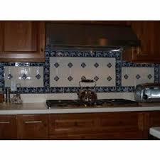 braganza blue border backsplash for the kitchen u2013 avente tile