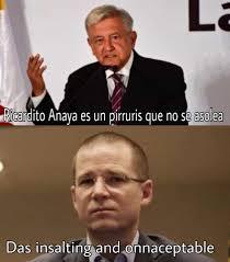 Memes Del Pirruris - anaya se burla de los memes insoltin and unacceptabol la silla rota