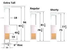 Patio Door Sizes Outdoor Furniture Sizes Attractive Standard Patio Door Size