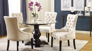 linen dining chair best 25 tufted dining chairs ideas on room within white