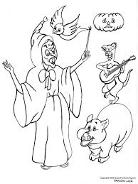 halloween scary cat coloring pages download and print for free