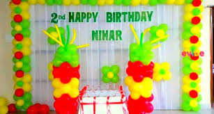 balloon decoration for birthday at home awesome balloon decoration for birthday at home pictures world