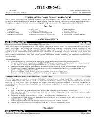 marketing executive sample resume channel marketing manager cover letter channel marketing manager sample resume software custom