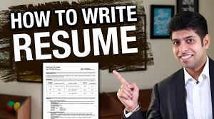 How To Prepare Job Resume by How To Write Resume Effectively Job Interview Tips In Hindi By
