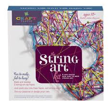 the new 2016 craft tastic string art kit craft kit loopde diy