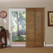 Bamboo Blinds For Outdoors by Decor Glass Sliding Patio Doors Lowes With Wood Frame For Home