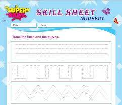 nursery worksheets in india