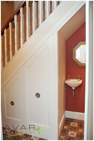 home decor traditional style under stairs unit storage ideas