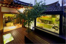 Korea Style Interior Design 안녕하세요 Traditional Korean House Combined With A Modern