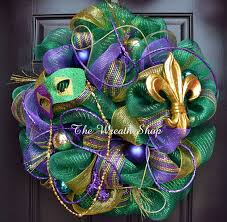 mardi gras mesh 14 best mardi gras wreaths images on mardi gras deco