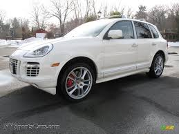 used porsche cayenne turbo s 2009 porsche cayenne turbo s in sand white a82391 nysportscars