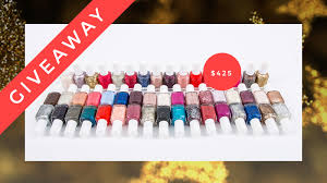 today u0027s giveaway enter to win 50 yes 50 essie nail polishes
