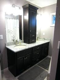 bathroom vanity and linen cabinet combo bathroom vanity linen cabinet bathroom vanity linen cabinet combo