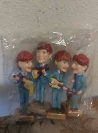 beatles cake toppers vintage new in package the beatles cake toppers bobblehead nodders