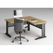 bureau compact bureau compact 90 symétrique space 2 avec piètements métalliques