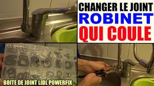 robinet cuisine qui fuit robinet qui fuit coule remplacer le joint qui fuit boite de joint