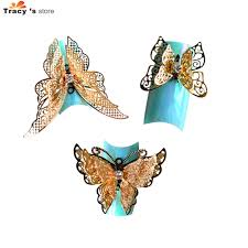 Diy Butterfly Decorations by Aliexpress Com Buy 1pcs New Arrival Charm Bow Ties 3d Alloy Nail